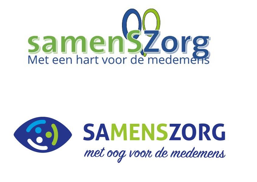 Herontwerp logo Samenszorg