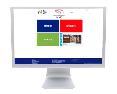 Website Basisschool de Ark